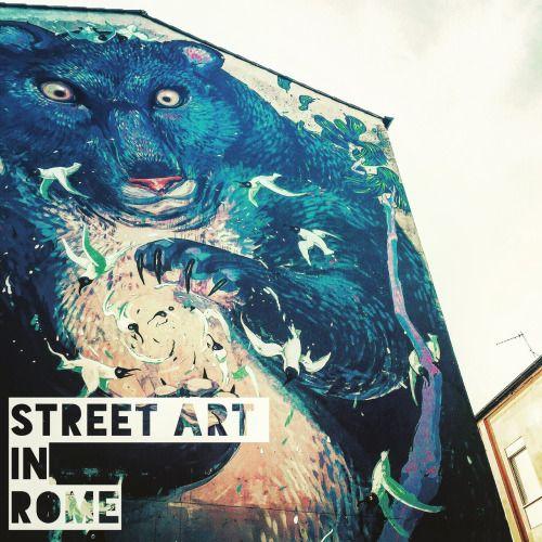 Street Art in Rome - the district becomes art gallery to open... #Art - #Art #LoveArt http://wp.me/p6qjkV-lzj