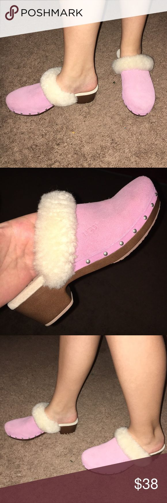 Ugg Girls shoes 👠 AUTHENTIC. SIZE 4. NWT ADORABLE...One of a kind !!!   These are Brand NEW!!  Never worn 👍.  Your little Girl will LOVE ❤️ these shoes for sure ✅💕👠. Great Price !!!   May consider offers.  😀💜 UGG Shoes Dress Shoes