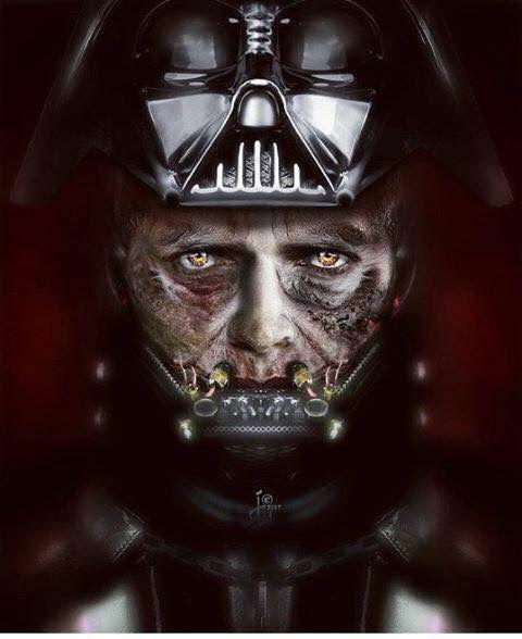 Anakin Skywalker as Darth Vader