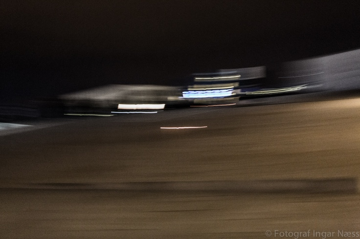The Oslo Opera house by nigth - abstract