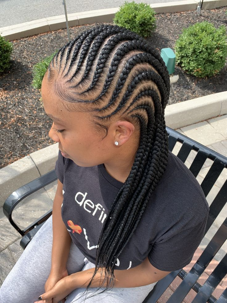 Formally Touchedbyasia On Instagram Are You Feeling For Feedin Braids Or Fulani Br In 2020 Braided Hairstyles For Teens Feed In Braids Hairstyles Braided Hairstyles