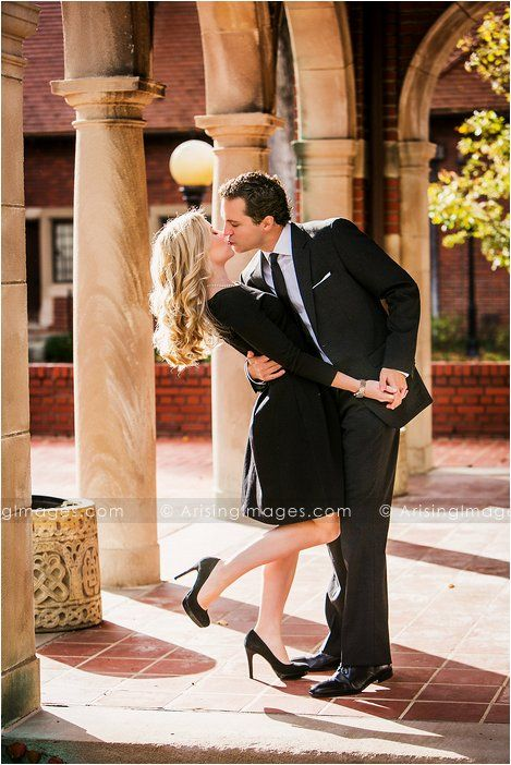 Suit & tie. Black dress and high heels. This is safe to say that this is Mr Courtney and I's type of engagement photo.