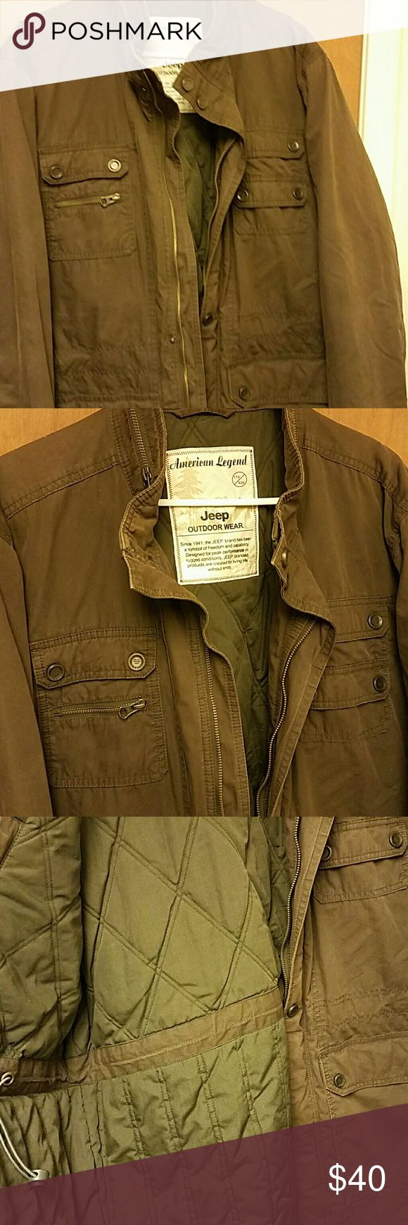 American Legend Jeep Outdoor Wear Jacket New condition! Nice and Sharp looking- No defects jeep Jackets & Coats