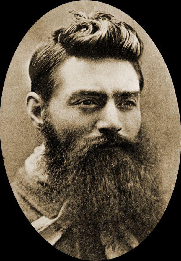 Нед Келли знаменитый австралийский бушрейнджер (разбойник) накануне казни.1880г.