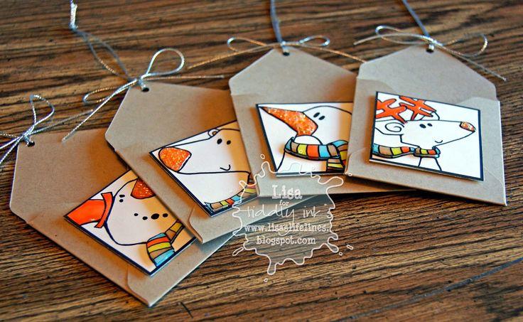 MINI Envelope Gift Card Tags
