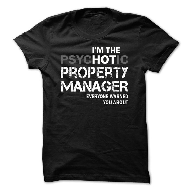 Nice T-shirts  Property Manager HOT . (3Tshirts)  Design Description: Property…                                                                                                                                                                                 More