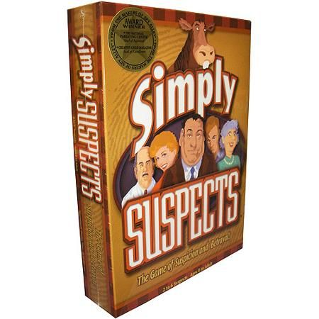 Simply Suspects Board Game