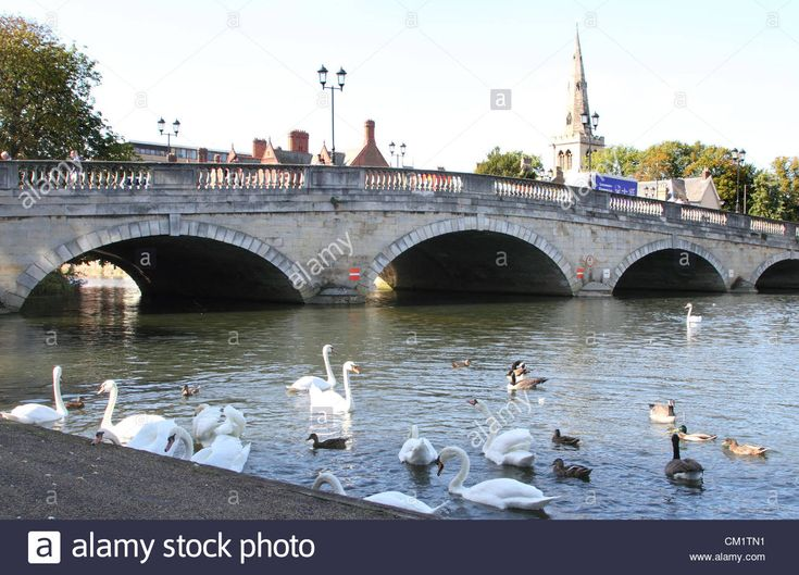 Bedford, UK - Bedford's Town Bridge