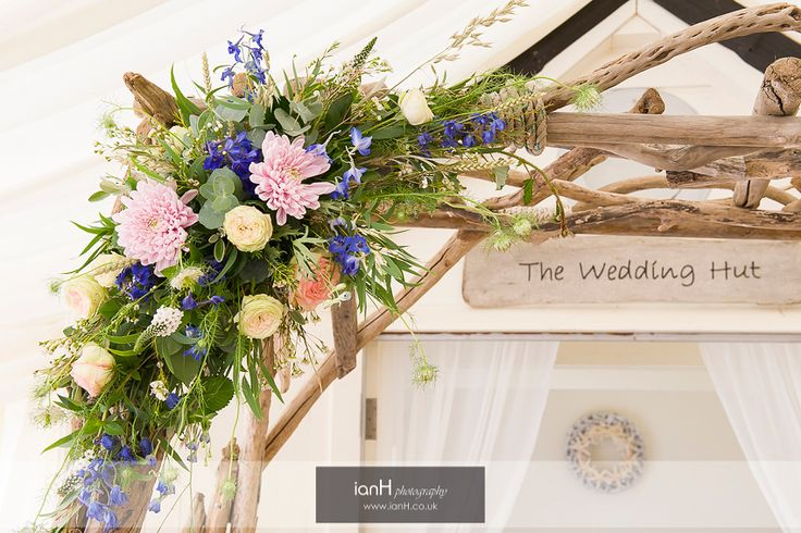 Floral arch at Beach Weddings Bournemouth
