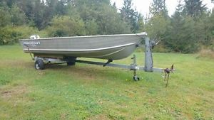 boat motor and trailer for sale Fredericton New Brunswick image 1