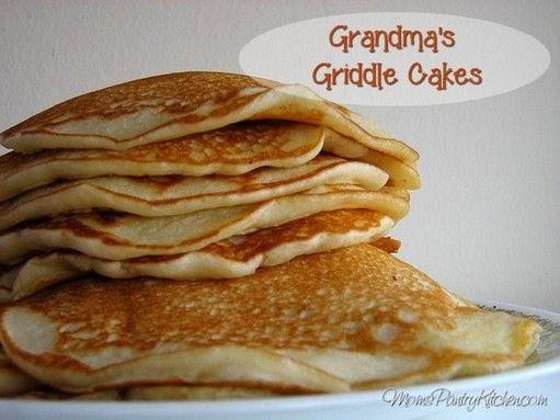 Grandma's Griddle Cakes   http://www.momspantrykitchen.com/grandmas-griddle-cakes.html