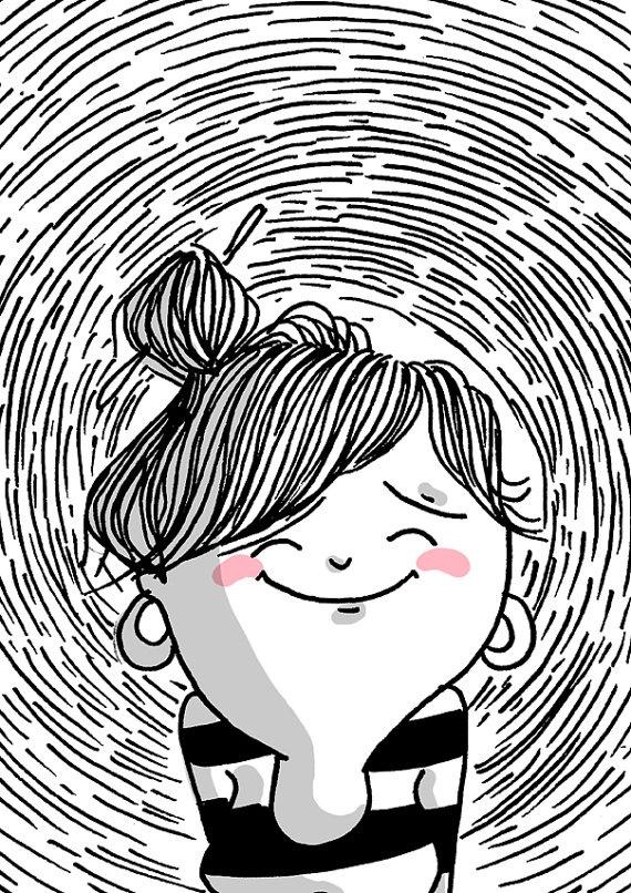 """Diario de una volátil: """"todo está bien"""". $45.00, via Etsy. #compartirvideos #watsappss #imagenesdivertidas"""