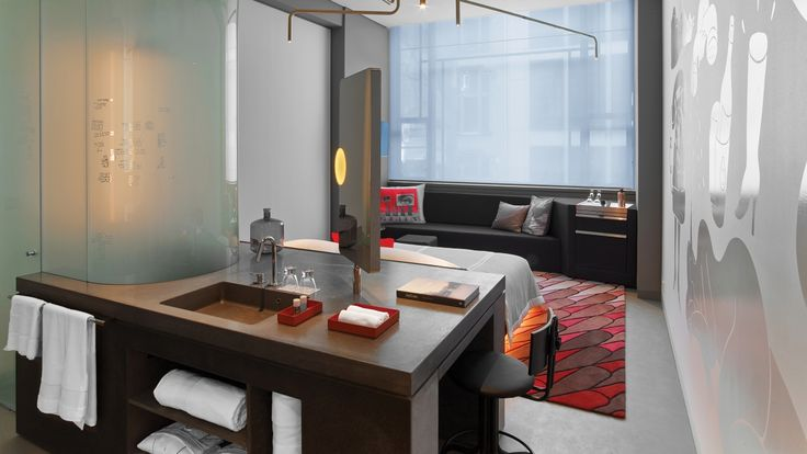 IVANKA developments for W Amsterdam Hotel.