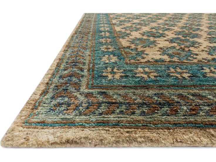 loloi rugs nomad beige u0026 ocean area rug - Colorful Area Rugs