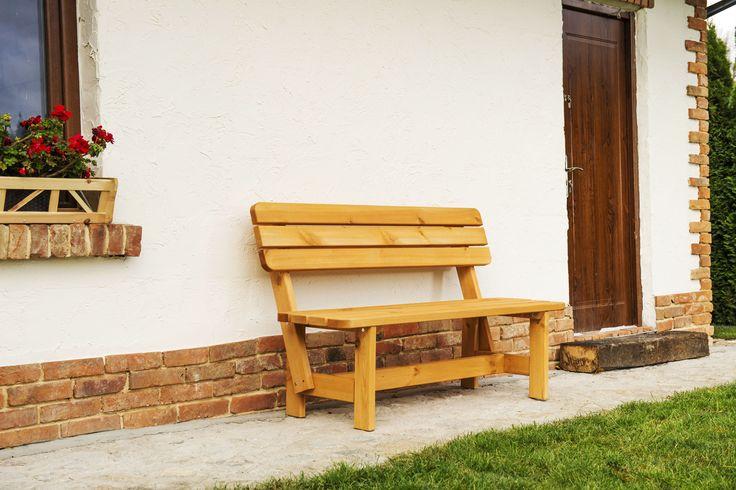Ławka impregnowana ogrodowa BB-L, cena: 239 zł