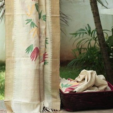 superlike!cotton khadi with pure Muga border