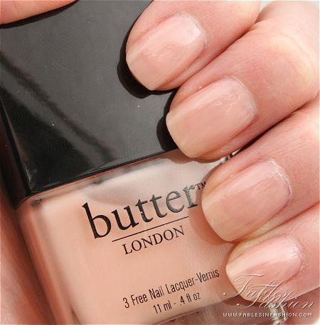 Butter London Natural Nail Polish Pinpoint Properties