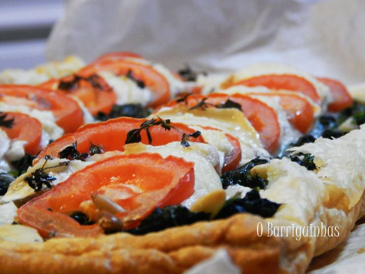 Pizza Folhada de Queijo de Cabra Chèvre