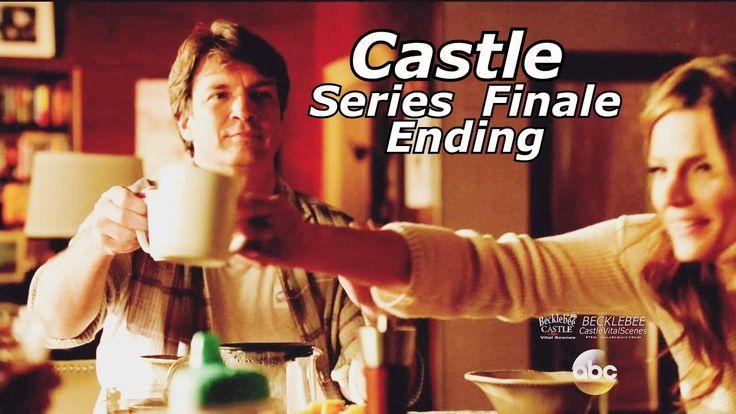 """Castle 8x22 Ending / End Scene Castle & Beckett Kids Caskett Happy Ending Series Finale """"Crossfire"""" - YouTube"""