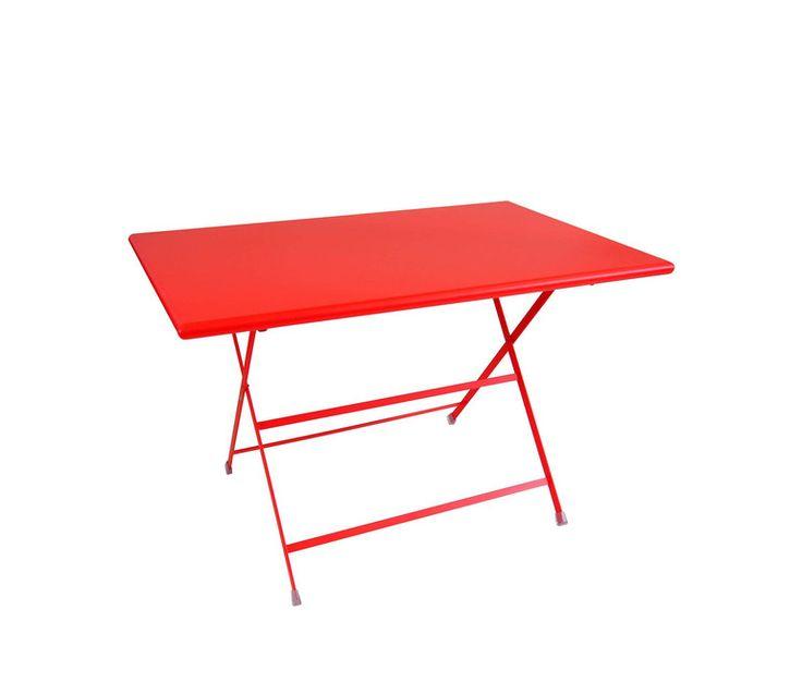 Tavolo rettangolare pieghevole 110x70 emu