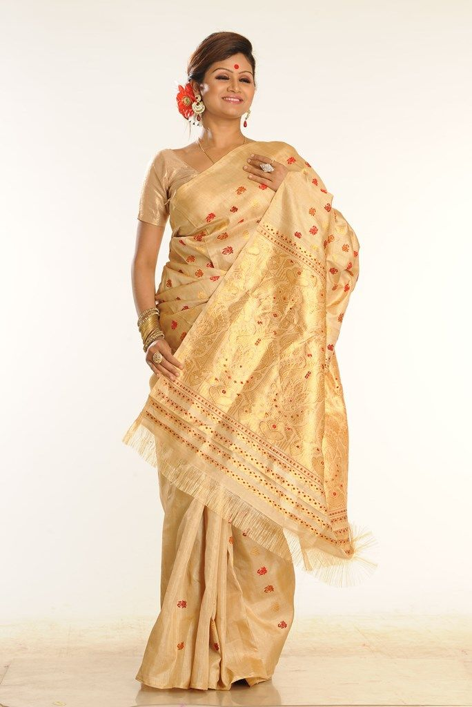 Shop Now @ http://www.silkalay.com/product/assam-muga-saree-ab659/