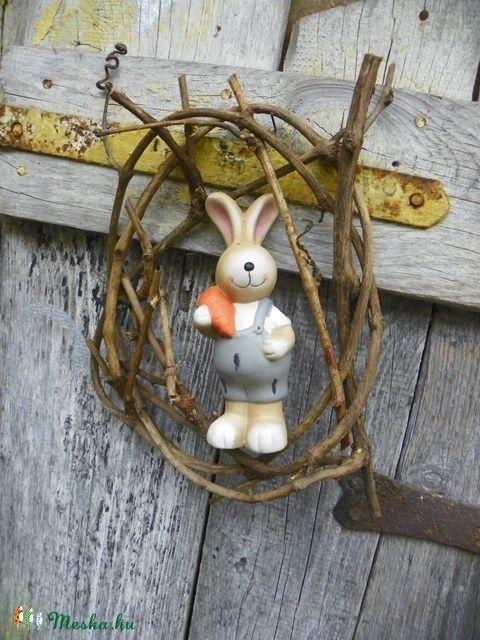 Húsvéti nyuszi-ajtódísz.kopogtató (galamb70) - Meska.hu