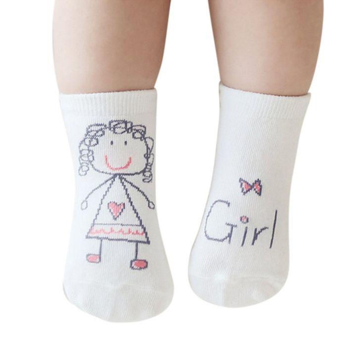새로운 유아 아기 유아 아이 소년 소녀 인쇄 만화 소프트 미끄럼 ...
