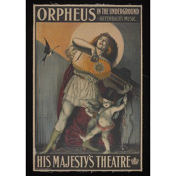 Poster - His Majesty's Theatre poster