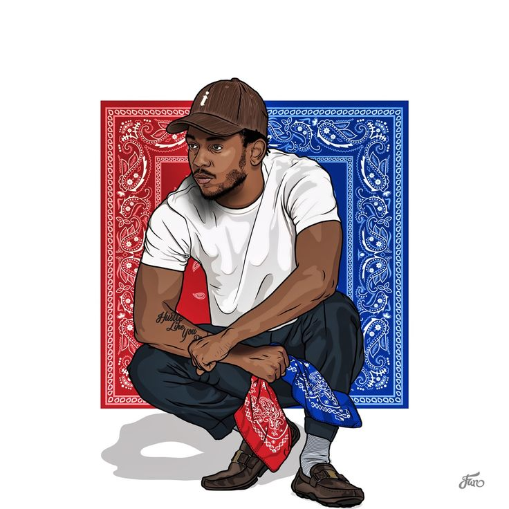 This is some amazing Kendrick artwork  especially cause he's from Compton (obvi)