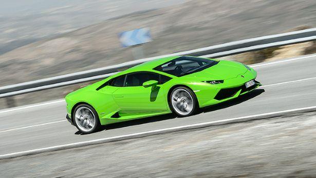 Across Spain in the new Lambo Huracan - BBC Top Gear