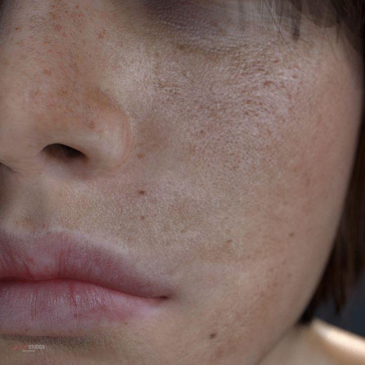 ArtStation - Blender 3D Cycles - Skin Shader Vers.6 Examples, Team Dee van Hoven / JLE Studios