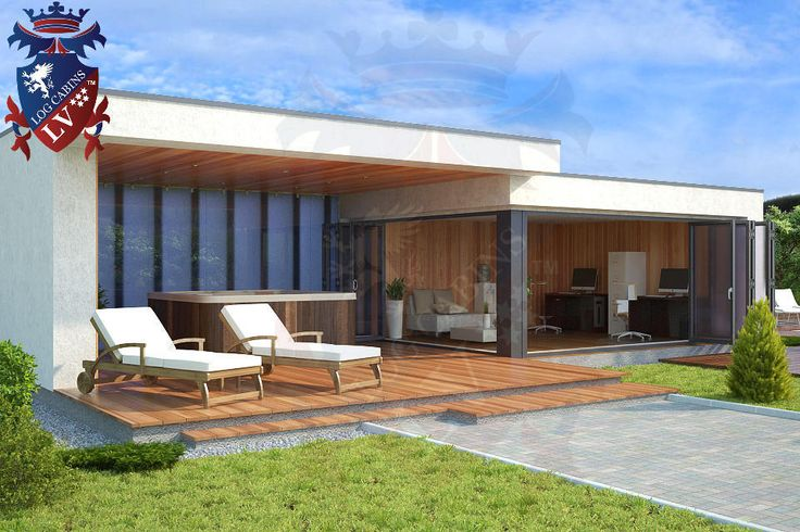 17 best images about modern garden offices timber frame for Modern garden office
