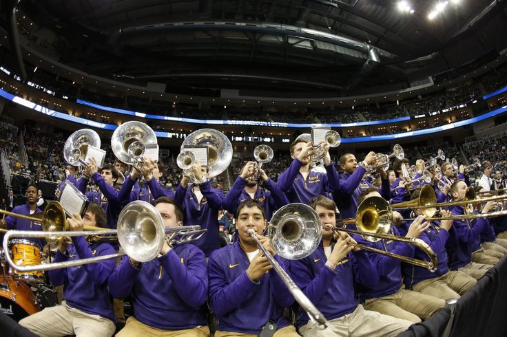 LSU band performs for the Tigers game agains NC State - Photo by USA TODAY Sports