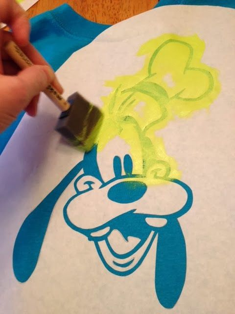 ...and chaos ensued: Freezer Paper Character Stenciled T-shirts