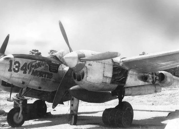 P-38J #134 flown by Capt Francis Lent 431st FS Biak 1944.