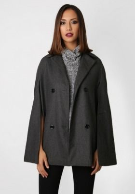 10. THE 2015 CAPE: Love them or loathe them, capes continue to stick around for another season. Wild Pair's charcoal grey style will easily add a touch of glam to any winter outfit - though you may want to wear something long-sleeved underneath to save your arms from freezing. Little One Chloe Cape, 139.90, wildpair.co.nz