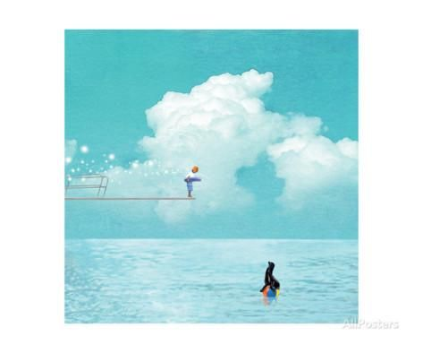 High Dive Photographic Print by Nancy Tillman at AllPosters.com