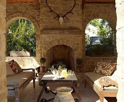 Texas Ranch back porch