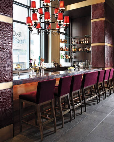 ELLE DECOR Goes to Baltimore - B American Brasserie
