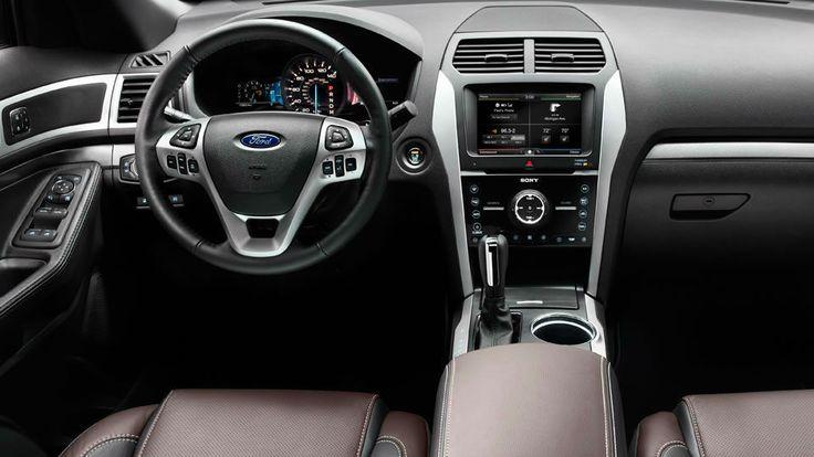 2014 Ford Explorer Sport Interior(love the interior)