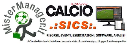 www.mistermanager.it, il blog ricco di contenuti per allenatori di calcio, osservatori, match analysts e addetti ai lavori