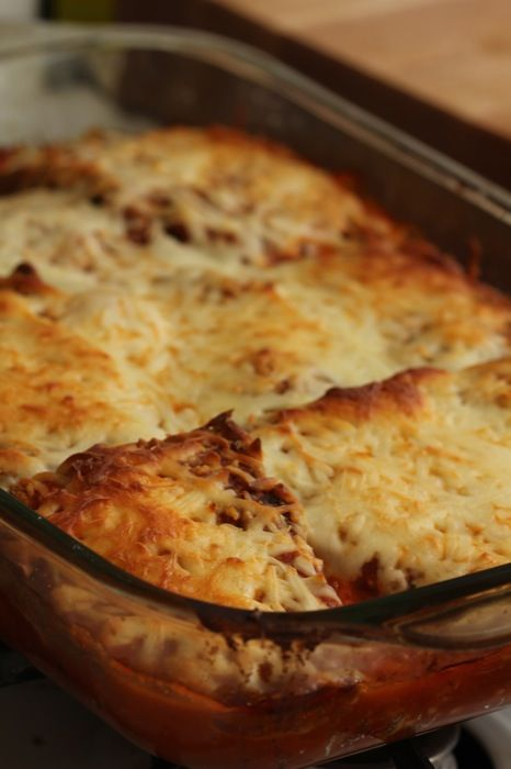 Baked Chicken and Eggplant Parmesan.  Tried this recipe and it is so good!