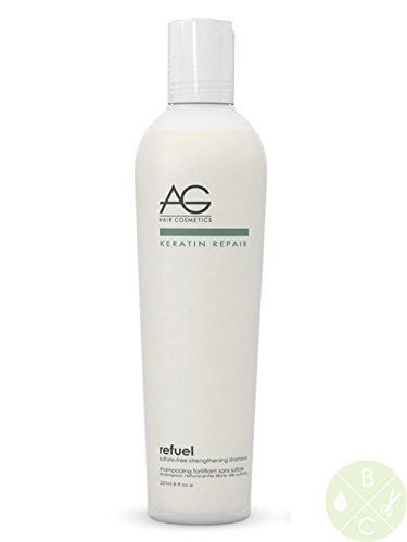 AG Hair Refuel SulfateFree Strengthening Shampoo 8 Ounce by AG Hair Cosmetics * Continue to the product at the image link.(This is an Amazon affiliate link and I receive a commission for the sales)
