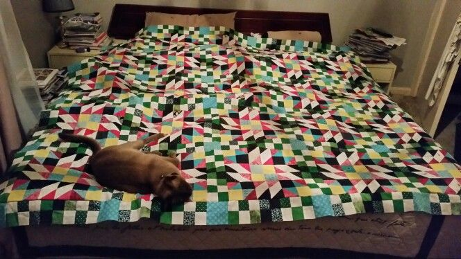 Centre  completed  with  quilt inspector.