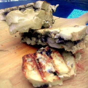 mushroom and manchego panini from Cooking Light featured on It's Not ...