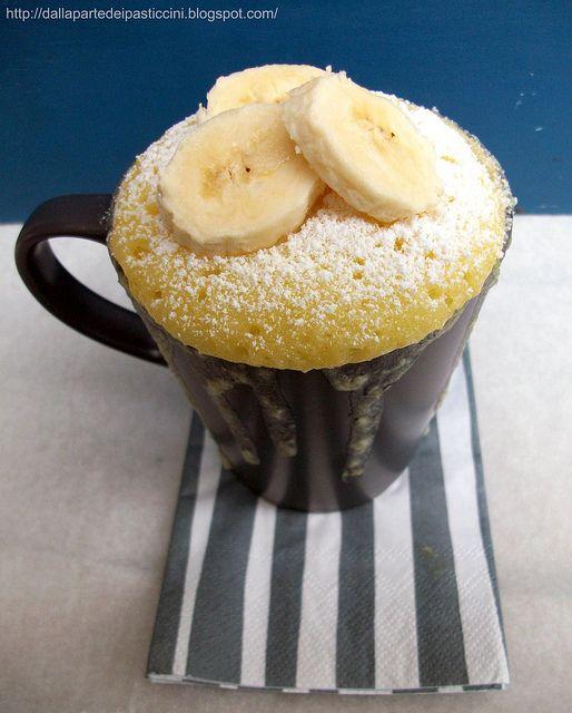 Coffee mug cake: tortino à porter in tazza, al limone e cocco