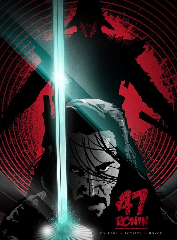 """O filme """"Os 47 Ronins"""" com Keanu Reeves teve divulgado novos cartazes http://cinemabh.com/imagens/o-filme-os-47-ronins-com-keanu-reeves-teve-divulgado-novos-cartazes"""