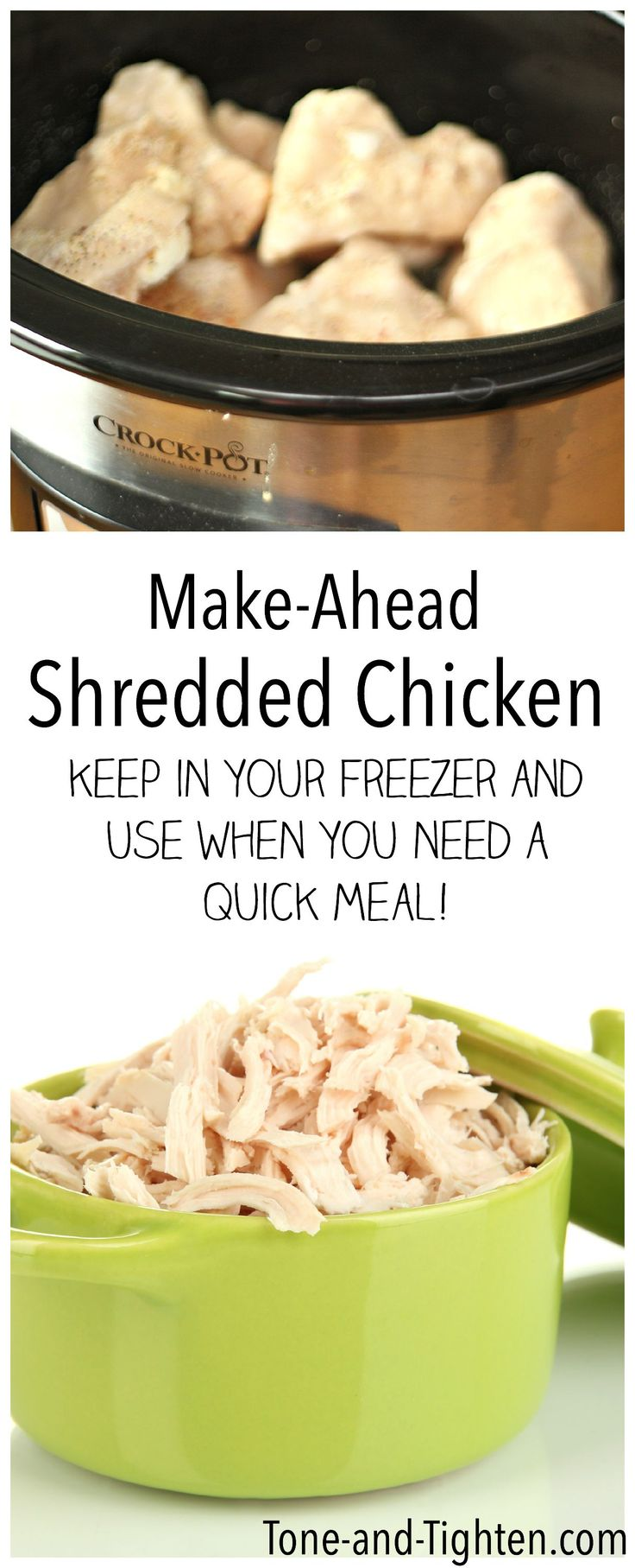 479 best freezer cooking images on pinterest freezer meals make ahead slow cooker shredded chicken freezer meal keep on hand for healthy dinner recipes forumfinder Gallery