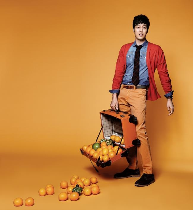 so ji sub --- VIVIEN Calendar 2013
