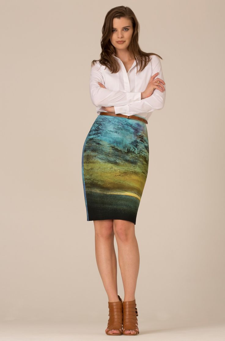 BLUE CLOUD SKIRT - AW13 - Collections - Art on Fashion